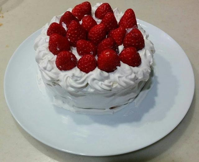 グルテンフリー米粉ケーキ(卵・乳・小麦不使用)
