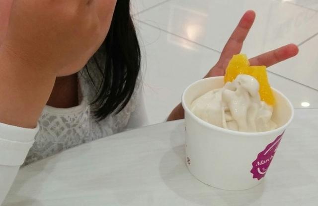 乳アレルギーでも食べられる!ライスミルクソフトクリーム登場!