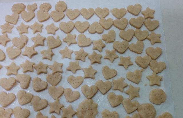 グルテンフリー米粉の型抜きクッキー(卵・乳・小麦不使用)