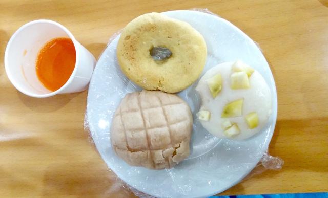 グルテンフリー米粉パンの焼き比べ ミズホチカラとマイドルチェとマイべイクフラワー